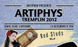 Tremplin Artiphys – Vinyl Club, Lausanne