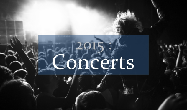 2015 - Concerts